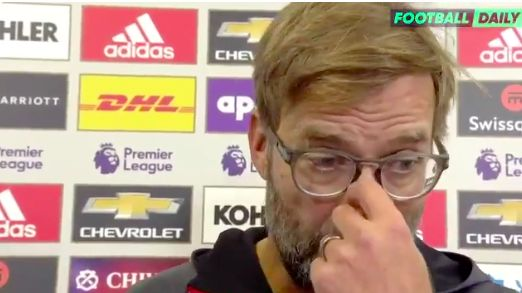Klopp says United play bad football and have done for four years