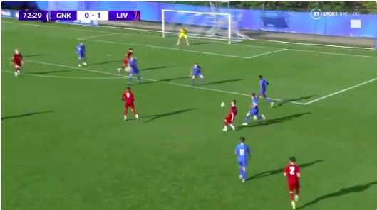 (Video) Harvey Elliott's highlights v. Genk shows why he's LFC's brightest prospect