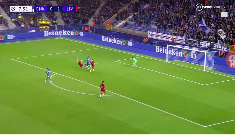 (Video) Alisson proves why he's best in the business with super one-on-one save v Genk
