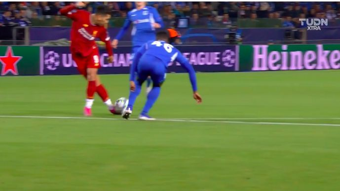 (Video) Firmino pulls off insane Rabona pass that'll be replayed for years