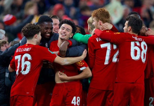 Liverpool predicted XI v. Shrewsbury – young Reds set for another outing after Everton FA Cup win