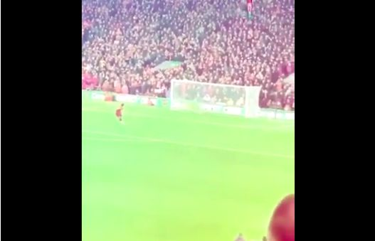 (Video) 'Go Curtis, lad' How Firmino celebrated Jones' winner at Anfield