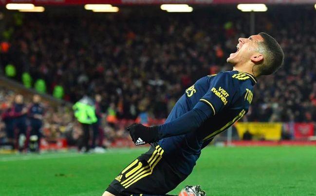 Lucas Torreira sends out bizarre tweet following Arsenal's crazy loss to Liverpool