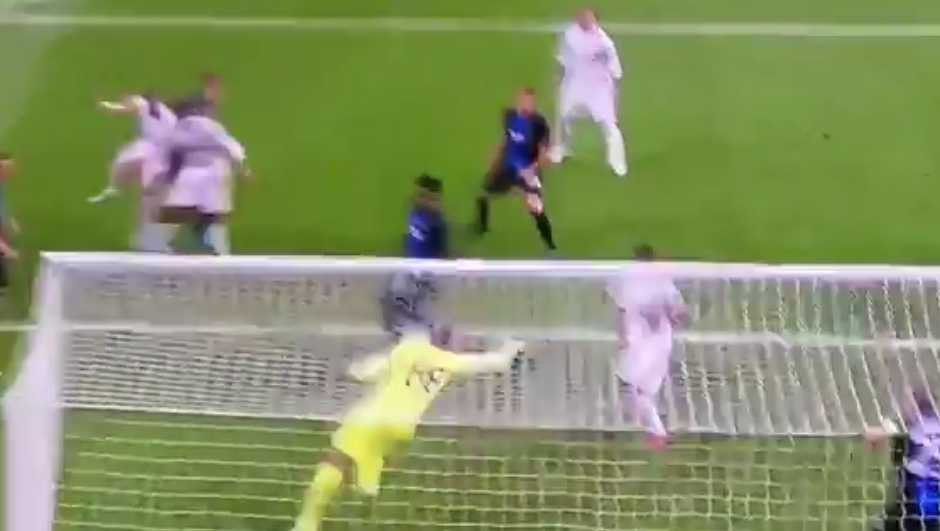 (Video) Mignolet produces quality reflex save to help Brugge draw with Real Madrid