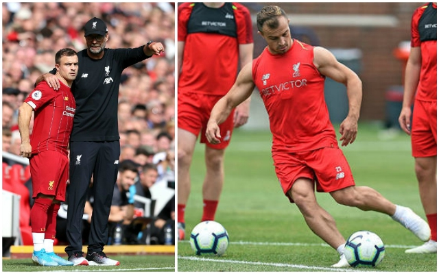 """Of course I'm dissatisfied"": Xherdan Shaqiri speaks out on Reds role and his relationship with Jurgen Klopp"