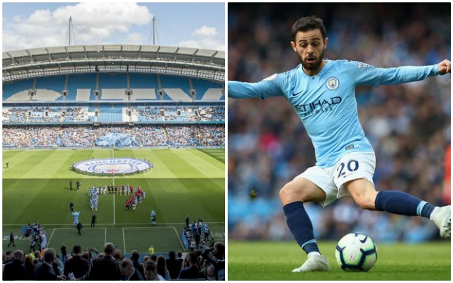 This Manchester City fan's banner in support of Bernardo Silva is genuinely awful