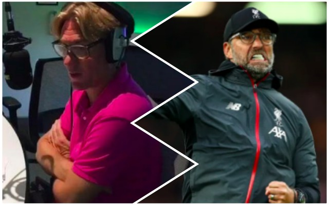 Radio presenter says Klopp 'infected by disease of arrogance'