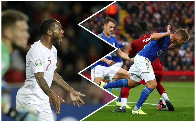 Many Reds fans say the same thing as Raheem Sterling is praised for England penalty award