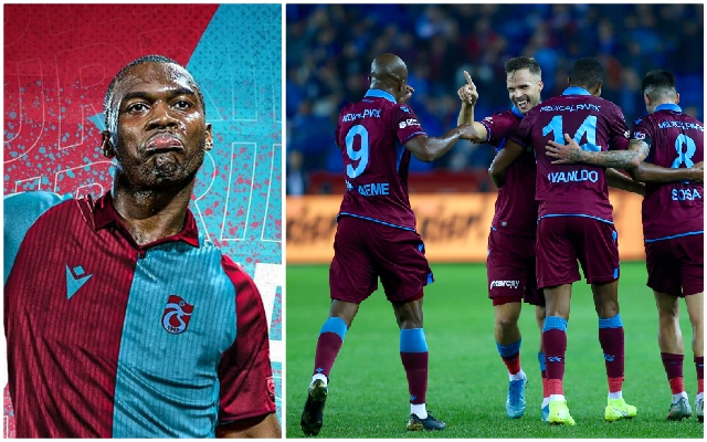 (Video) Daniel Sturridge gets off the mark for Trabzonspor with gorgeous finish from 16 yards