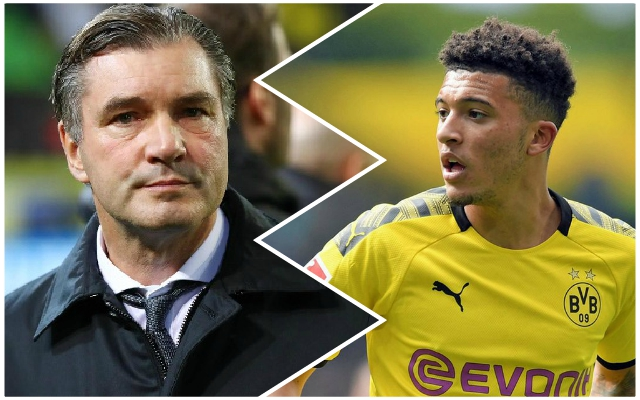 Dortmund sporting director makes Jadon Sancho transfer admission as Reds links persist