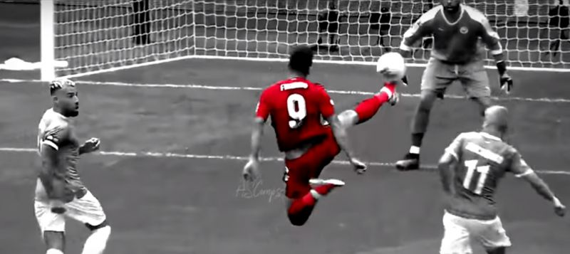 (Video) Firmino's highlights so good you'd swear you're watching FIFA 20 gameplay