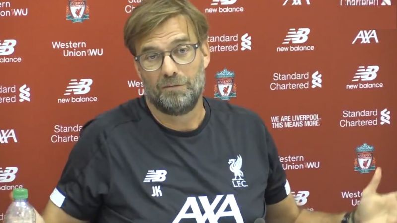 (Video) Klopp jokes he'd leave LFC if cameras were put in changing rooms