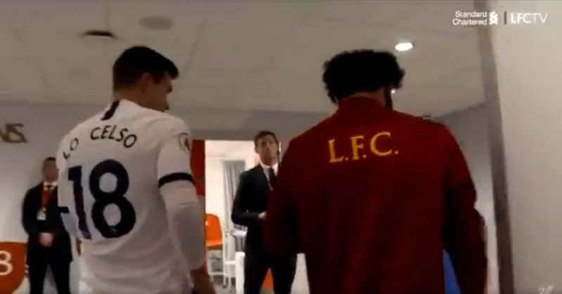 (Video) Spurs' star Lo Celso asking Salah for his shirt after LFC's 2-1 win