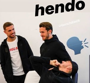"""""""Never a pen"""" – Maddison jokes with Hendo on IG after penalty decision"""