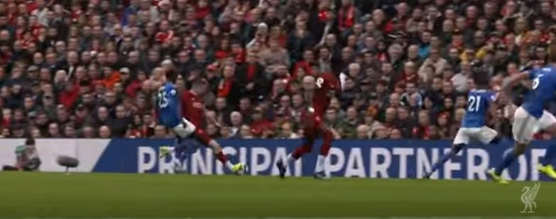(Video) New angle of Mane's goal v. Leicester shows how inch-perfect Milner's assist was