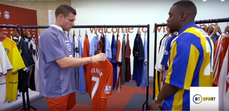 "(Video) ""Worn it as well as I could"" – Milner talks about donning the LFC shirt"