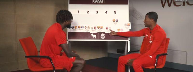 "(Video) ""Respect the OGs"" – Gini & Origi discuss best ever UCL comebacks"