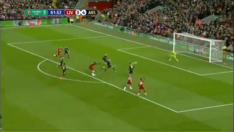 (Video) Origi nets with thumping finish against Arsenal