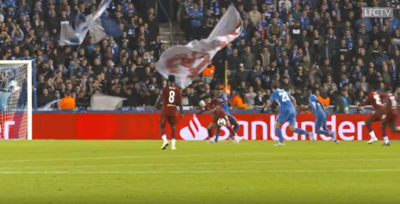 (Video) New angle of Salah's goal v. Genk shows just how incredible it was