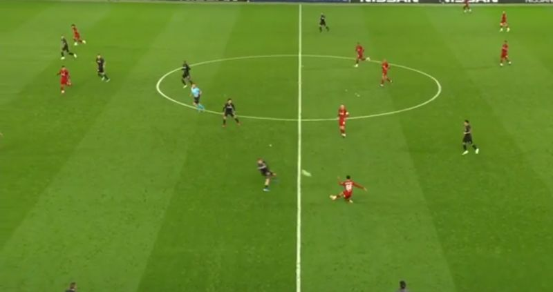 (Video) Trent's spectacular cross field 60-yard pass to Salah