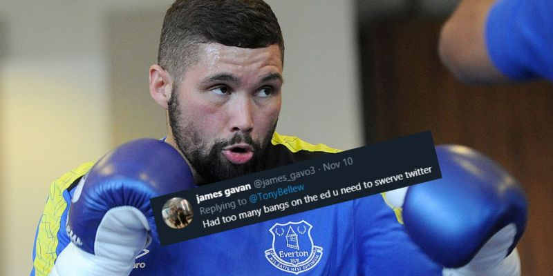 Many Everton fans fume on Tony Bellew after praising Liverpool
