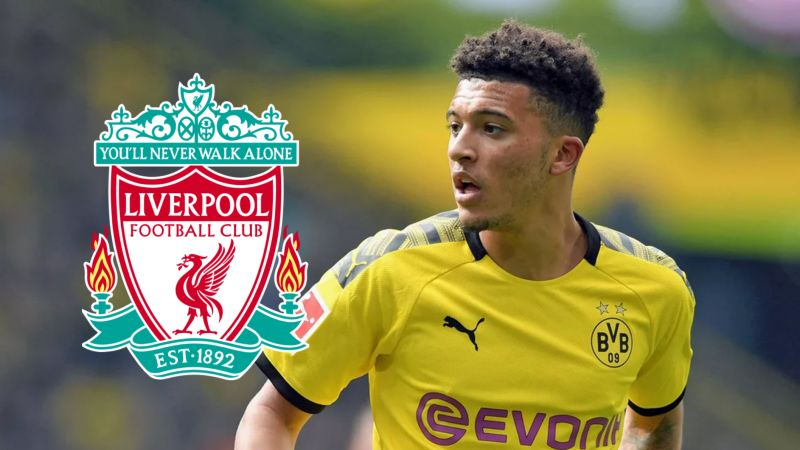 Jurgen Klopp admits Jadon Sancho 'would look very good' in a Liverpool shirt