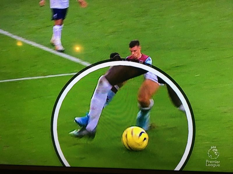 (Photo) New angle shows Mane shouldn't have been booked for diving