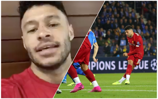 Chamberlain sends amazing video to Reds fans offering tickets to Genk clash – after they missed the away trip for bizarre reason