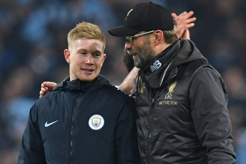 De Bruyne 'admires' Klopp, who 'wanted me at Dortmund'