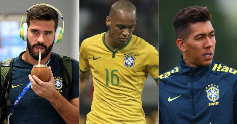 What happened in Brazil win today to Liverpool's three Samba Boys