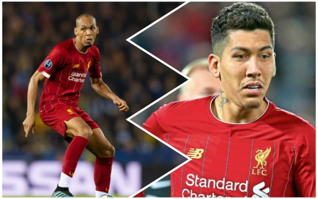 Ronaldinho lavishes 'world-class' Reds man Roberto Firmino with praise and speaks on 'champion' Fabinho