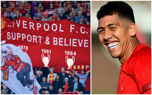 """It's cool!"": Roberto Firmino sends message to Reds fans as he's asked about 'Si Senor' song"