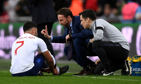 'Blood on his waistcoat' Many Reds angry at Southgate for Oxlade-Chamberlain decision