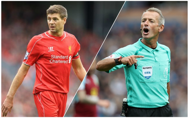 Steven Gerrard's views on Martin Atkinson from his autobiography say it all amidst referee's controversy
