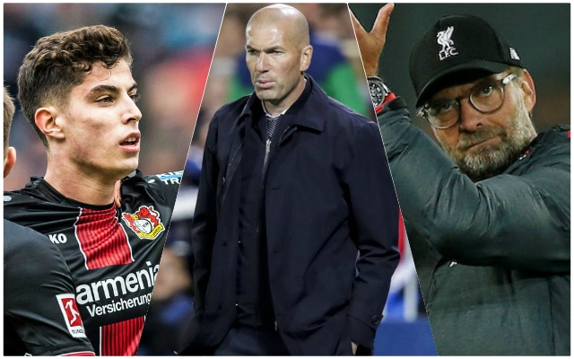 Report claims Real Madrid is the preferred destination for Liverpool target Kai Havertz