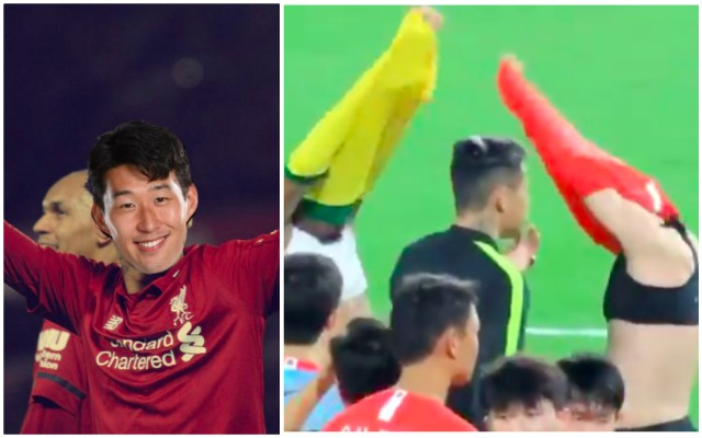 Many Reds reckon this Son/Fabinho/Firmino video shows #Son2020 could be a thing