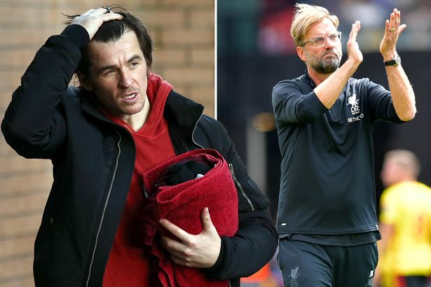 Joey Barton apologises for calling Klopp a 'Giant German cheerleader' and says he's the new Shankly