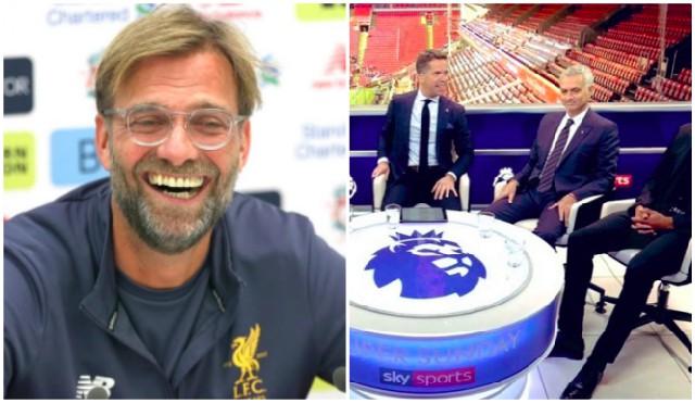 Klopp welcomes 'desperate' Mourinho back with joke about his punditry
