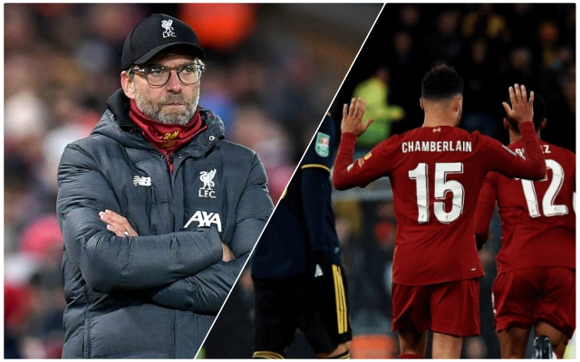 Klopp names the two things 'long-term project' Oxlade-Chamberlain needs to get back to top form