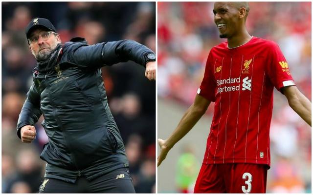 'Thank God the game today is not our only impression…' Klopp explains Fabinho, Matip & Lovren lacked 'rhythm' v Shrewsbury