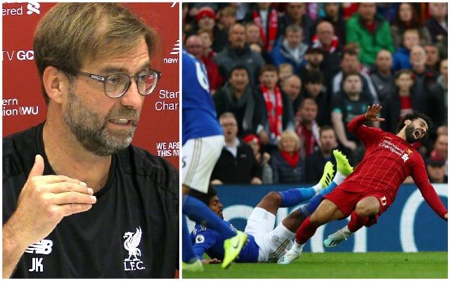 Jurgen Klopp offers Mo Salah injury update ahead of Aston Villa clash