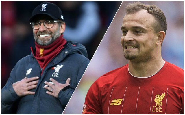 Liverpool finally explain Xherdan Shaqiri situation