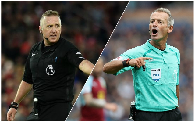 Crazy stat about what happens when Atkinson and Moss ref Liverpool emerges
