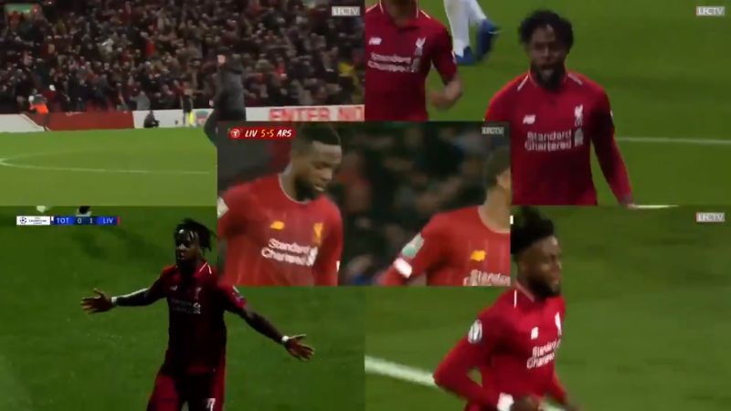 (Video) LFC fan creates overwhelming compilation of Origi's vital goals