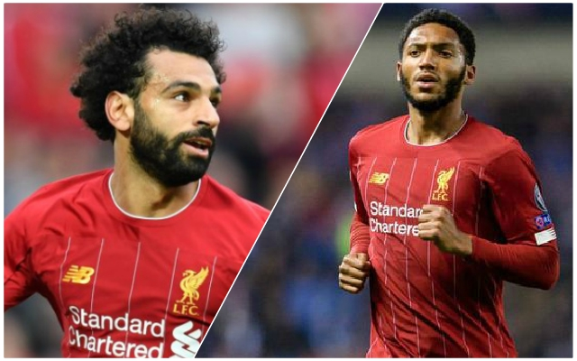 Mixed injury news ahead of Crystal Palace as Gomez is back but Salah and Robertson are doubts