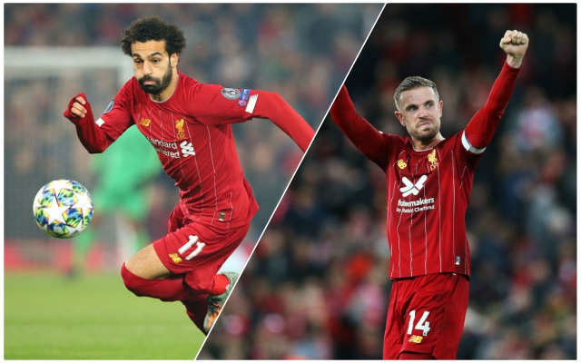 Jordan Henderson will start: How the Reds are expected to line up against Manchester City