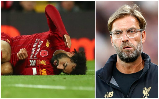 The latest on Mo Salah's injury as he faces a race against time to feature at Crystal Palace