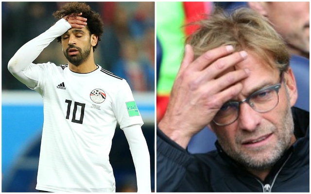 (Video) Klopp hints at serious, private conversation with Mo Salah regarding his Egypt trip