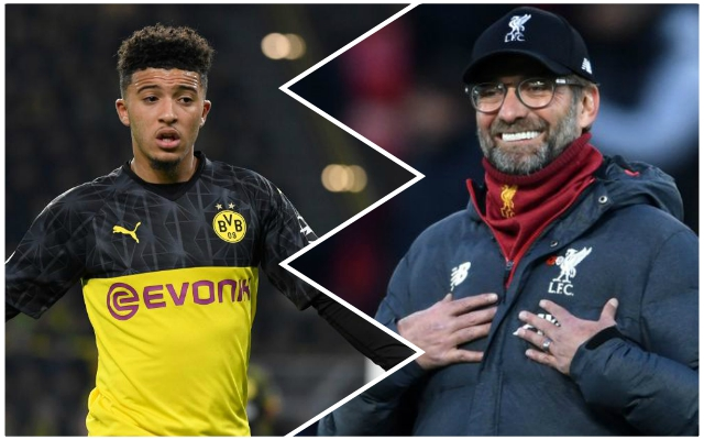 Dortmund change tact on Sancho which opens possibility of mega January Liverpool deal