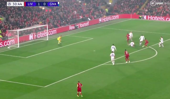 (Video) Ox turns defender inside out en-route to another attempted wondergoal